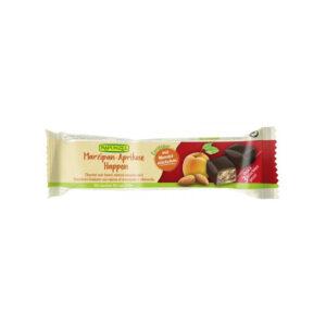 Baton cu martipan caise si ciocolata amaruie