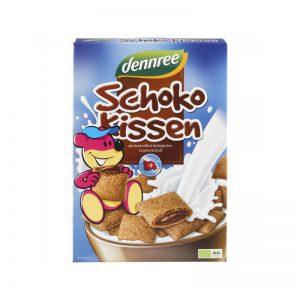 Cereale pernite bio umplute cu ciocolata