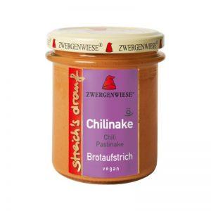 Crema tartinabila bio vegetala Chilinake cu chili si pastarnac