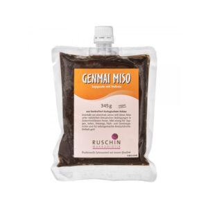 Genmai Miso de orez brun nepasteurizat