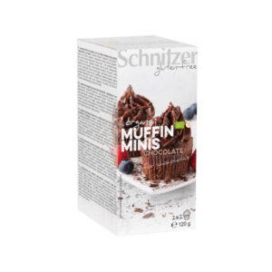 Mini muffins bio cu ciocolata FARA GLUTEN