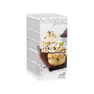Mini muffins bio cu Stracciatella FARA GLUTEN