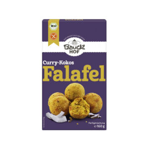 Mix pentru falafel bio curry si cocos