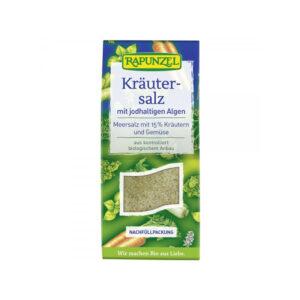 Sare iodata de condimentat cu 15% ierburii legume si alge 500g