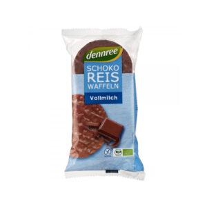 Vafe din orez expandat cu ciocolata