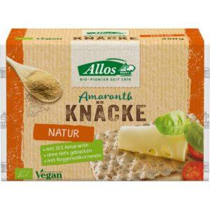 Crackers din secara integrala cu amarant