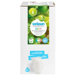 Detergent lichid pentru rufe colorate organic