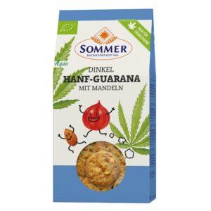 Biscuiti din spelta cu canepa guarana si migdale