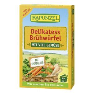 Cuburi de supa de legume bio delikatess