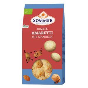 Biscuiti Amaretti din faina de spelta