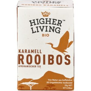 Ceai bio Rooibos caramel